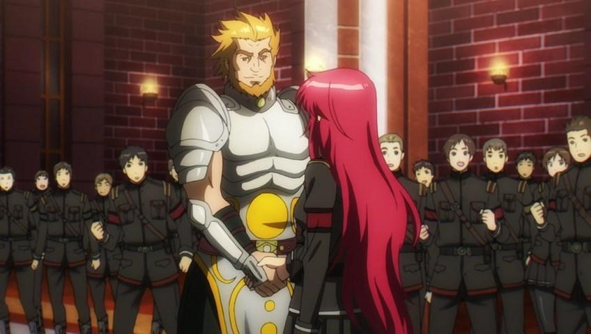 Praticamente o Alexandre o Grande de Fate/Zero de barba Amarela
