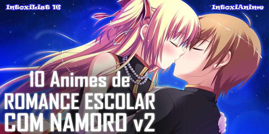 10 Animes De Romance Escolar Que O Casal Namora 02