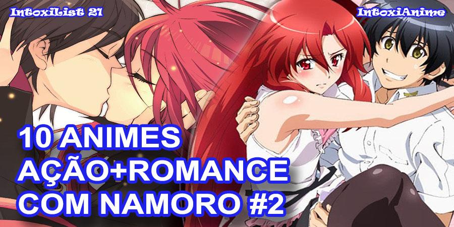 10 Animes De Acao Com Romance Que O Casal Namora 02