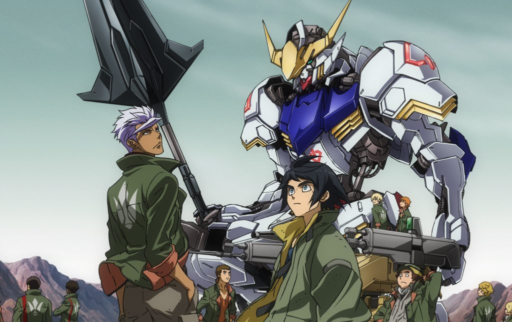 gundam iron orphans